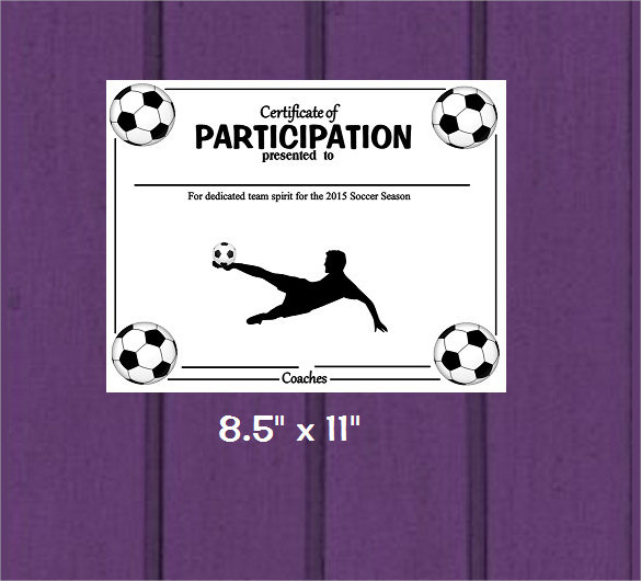 Free Soccer Certificate Templates Choice Image - creative