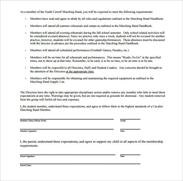 it contract template