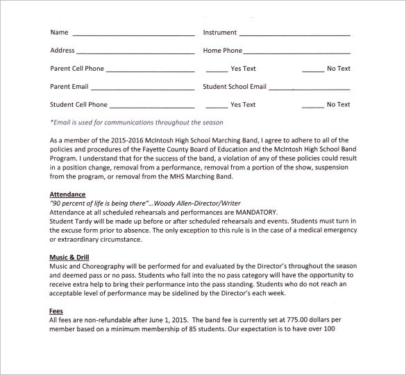 Simple Job Contract Template – Job Contract Template