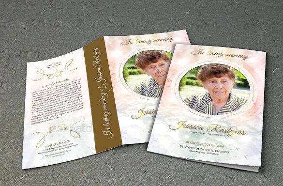 21+ Funeral Brochure Templates - Vector EPS, PSD
