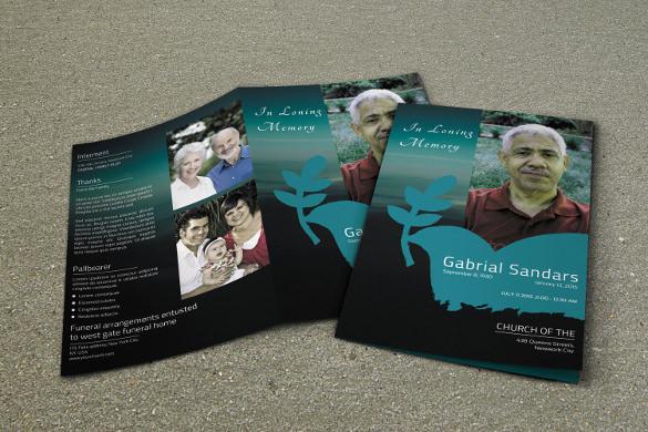 19+ Funeral Brochure Templates Sample Templates - funeral brochure template