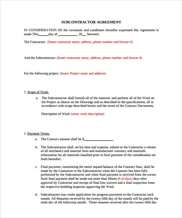 Doc460595 Time and Materials Contract Template Time and – Time and Materials Construction Contract
