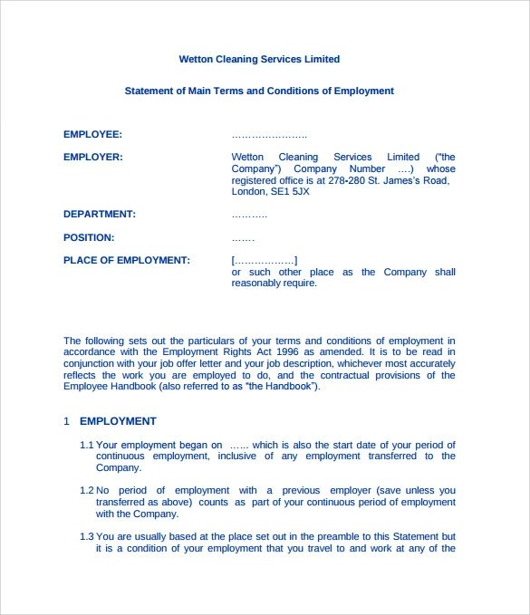free sample cleaning contracts - Ozilalmanoof - sample cleaning contract template