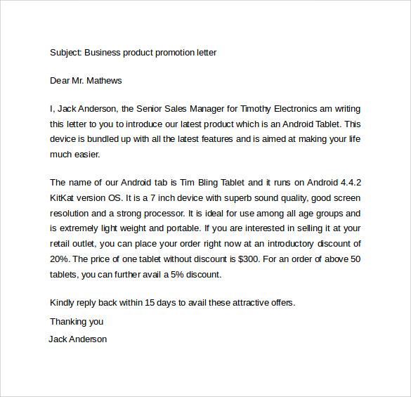 17+ Promotion Letters - DOC, PDF