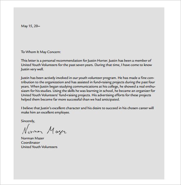 personal letter format pdf - Deanroutechoice