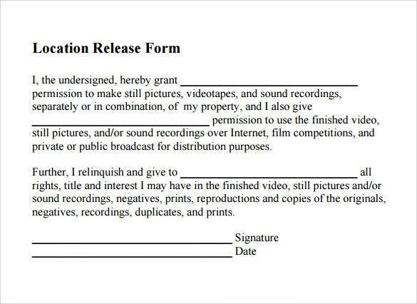 Location-Release-Form-PDF-Template-Free-Downloadjpg - Location Release Form