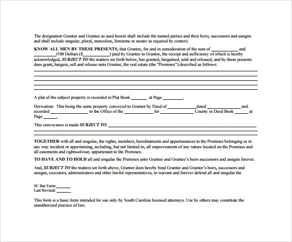 Sample Deed of Release Form - 13+ Download Free Documents in PDF, Word - deed of indemnity