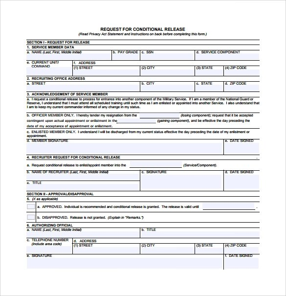 Conditional Lien Release Form Pdf – Conditional Release Form