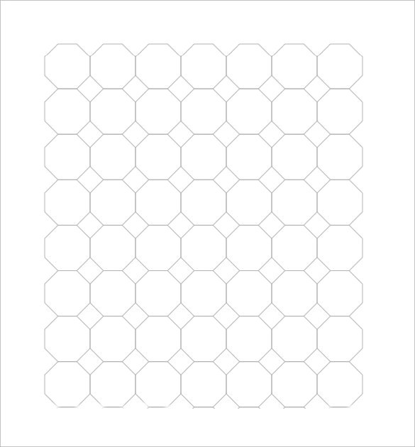 Sample Octagon Graph Paper - 5+ Documents in PDF