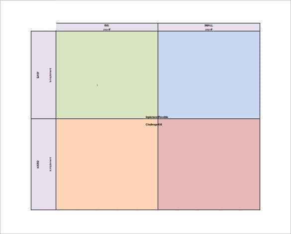 8+ PICK Chart Templates Sample Templates - pick chart