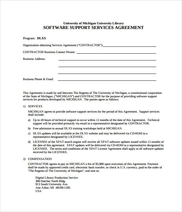 Nanny Agreement Templates  Create Professional Resumes Online For