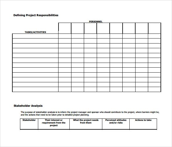 16 Project Action Plan Templates to Download for Free Sample Templates - business project plan template