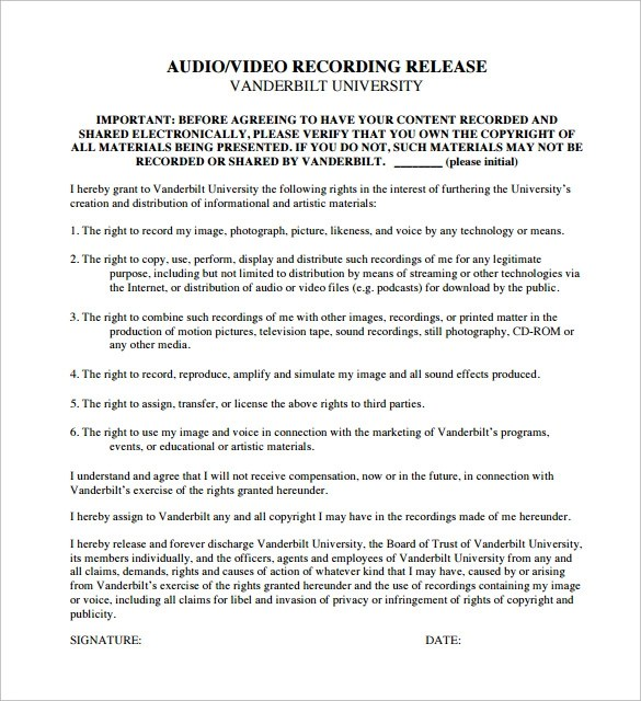 10 Recording Contract Templates to Download Sample Templates