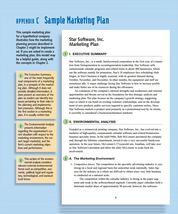 15 Marketing Action Plan Templates to Download for Free Sample