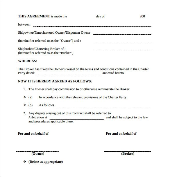 Standard Construction Contract Template Free – Free Construction Contracts Templates