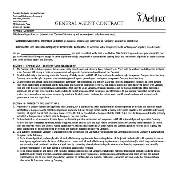 Booking Agent Contract Template Social Media Consulting Services - Booking Agent Contract Template