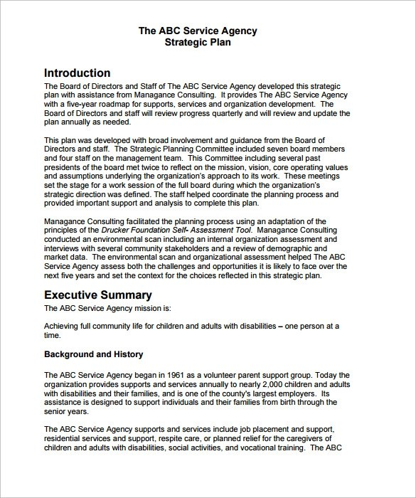 Strategic Plan Template For A College | Rent Receipt Template Alberta