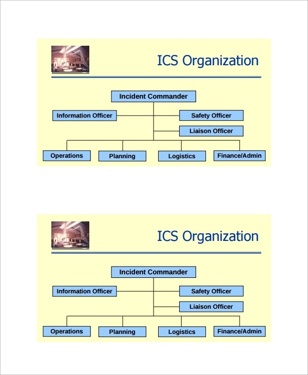 Sample ICS Organizational Chart - 8+ Documents in PDF - electronegativity chart template