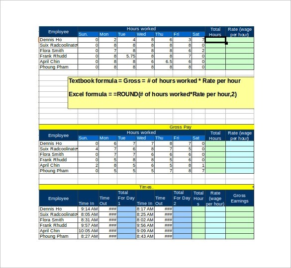 Sample Payroll Tax Calculator - 7+ Free Documents in PDF, Excel
