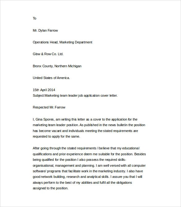 25 Cover Letter Example Download For Free Sample Templates - resume cover letter word