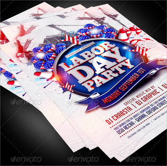 12+ Labour Day Flyer Templates Sample Templates - labour day flyer template
