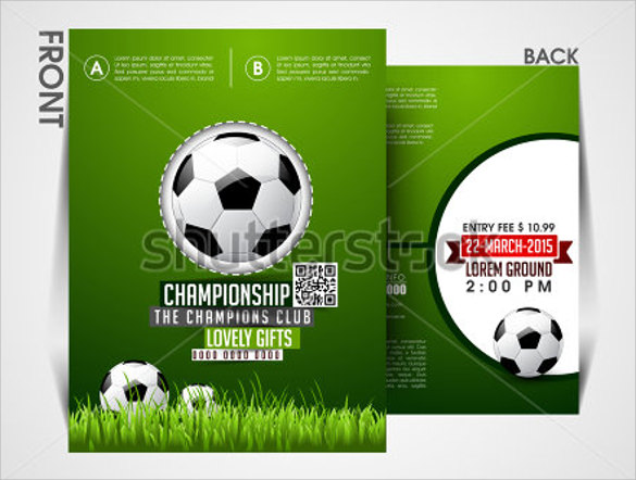 Soccer Flyer Template - 20+ Download in Vector EPS , PSD