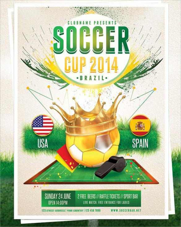 20+ Soccer Flyer Templates Sample Templates