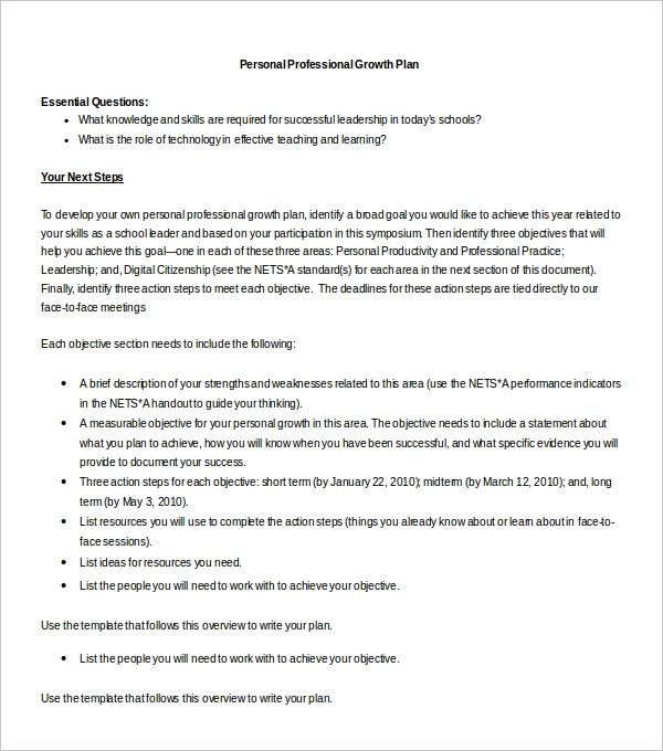personal action plan template datariouruguay - sample personal action plan