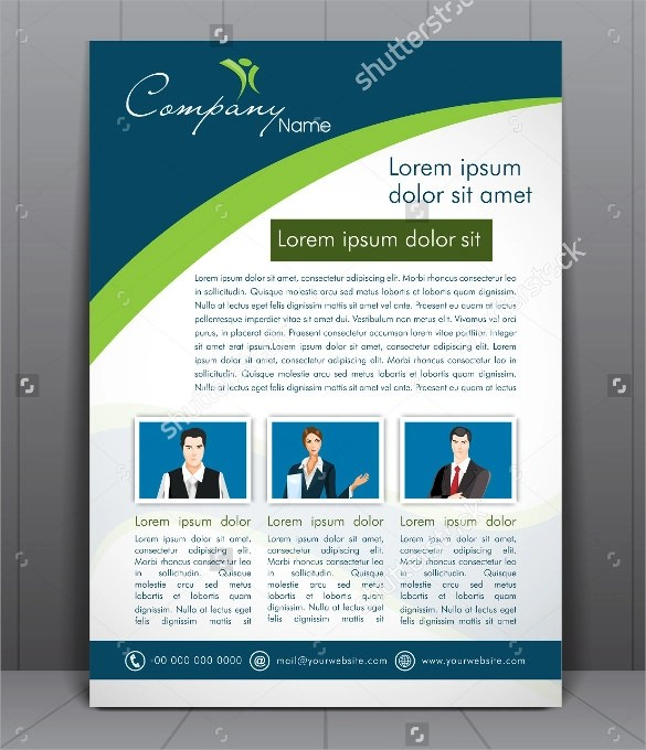 Corporate Flyer Template - 20+ Download in Vector EPS, PSD - corporate flyer template