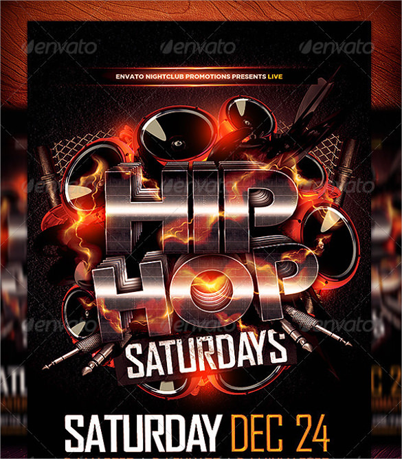 21+ Hip Hop Flyer Templates Sample Templates