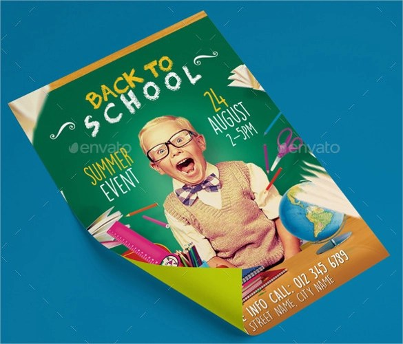 21+ Back to School Flyer Templates Sample Templates