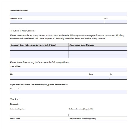 Sample Closing Business Letter - 12+ Documents in PDF, Word
