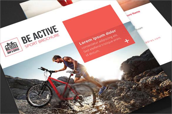 20+ Sports Brochures - Vector EPS, PSD - sports brochure