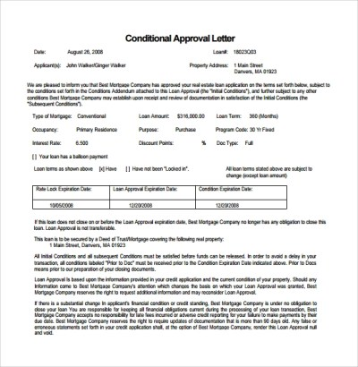 7 Mortgage Commitment Letter Templates to Download | Sample Templates