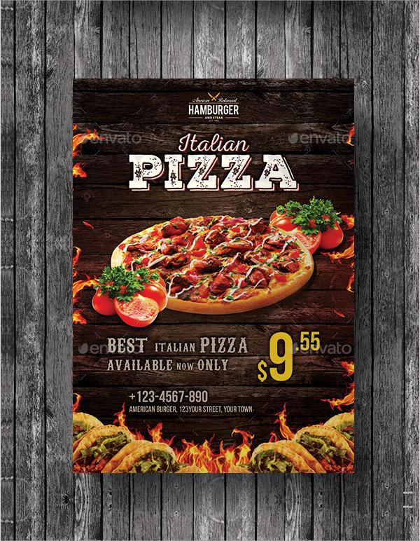 flyer design food