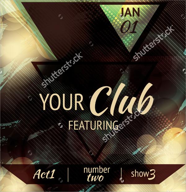 20+ Club flyer Templates Sample Templates - club flyer background