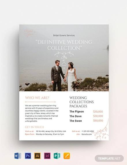 30+ Wedding Planner Samples - Word, PSD, Pages