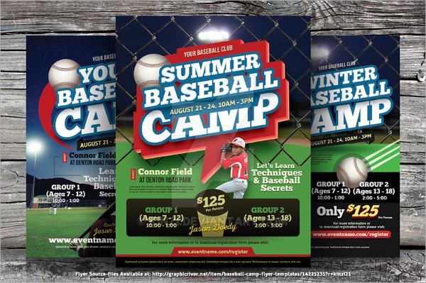 25+ Baseball Flyers Sample Templates - Baseball Flyer