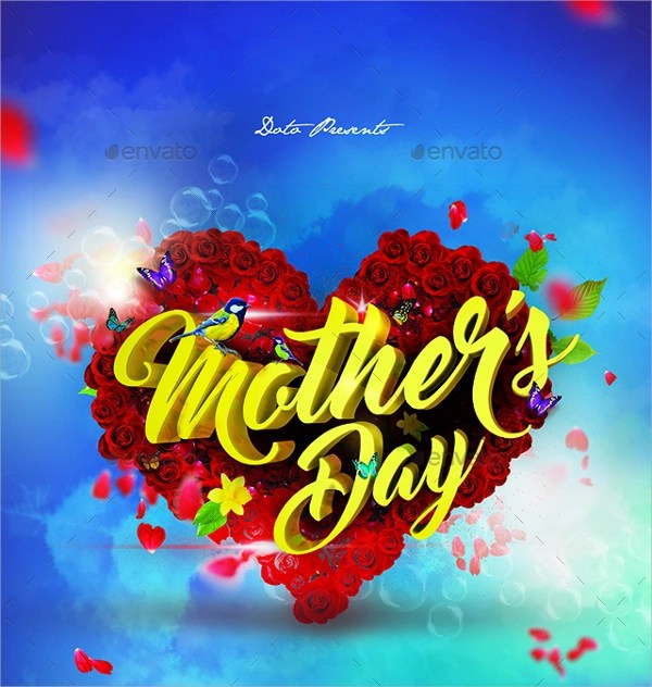 22+ Mothers day Flyer Templates Sample Templates - mothers day flyer