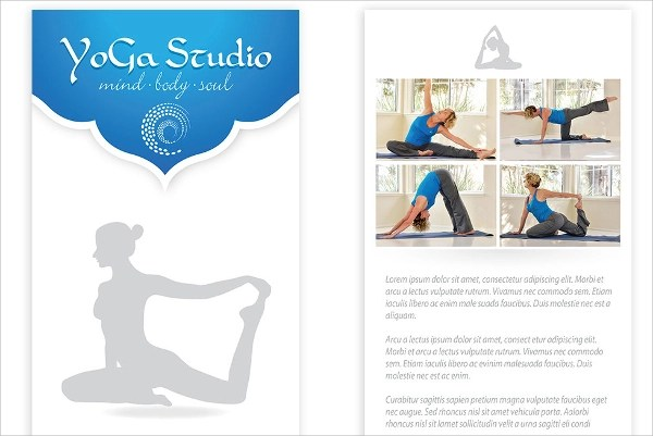 21+ Yoga Flyer Templates Sample Templates - yoga flyer