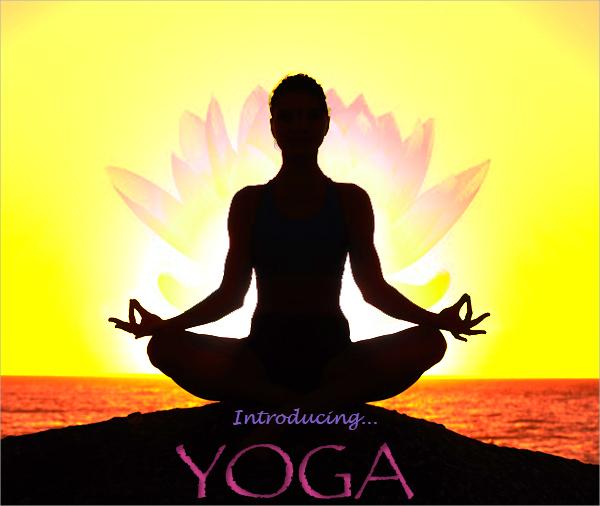 30 yoga flyer templates