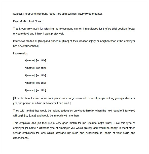 11 Thank You Letters to Recruiter to Download for Free Sample - thank you letter to recruiter