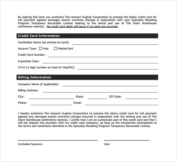Sample Rental Deposit Form - 11+ Free Documents in PDF, Word