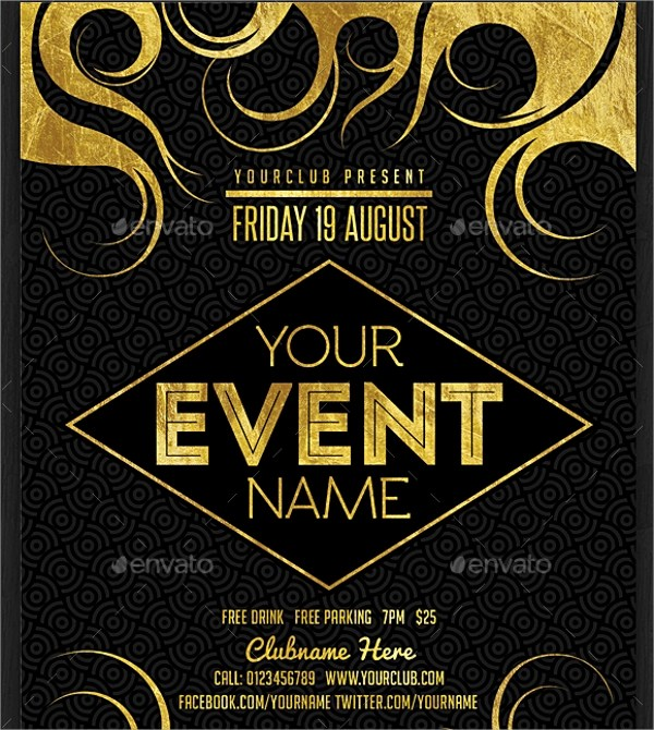 22+ Event Flyer Templates Sample Templates - event flyer