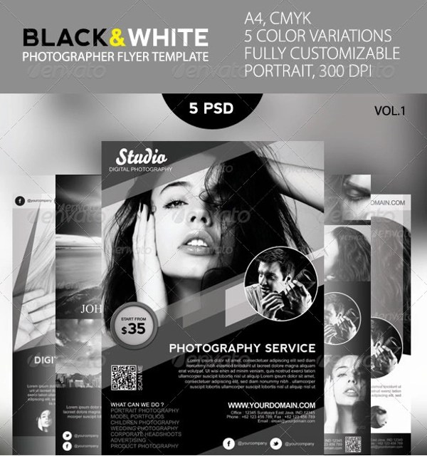 22+ Black and White Flyer Templates Sample Templates - black and white flyer template