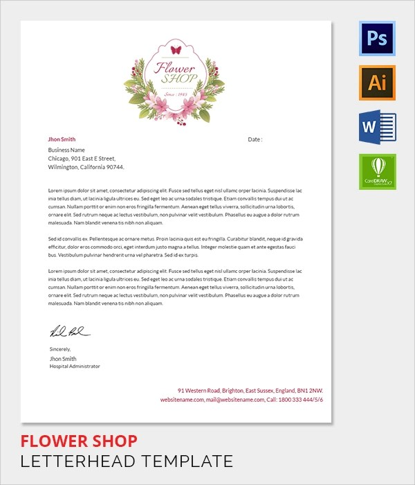 Letterhead Vectors Photos And Psd Files Free Download Sample Company Letterhead Template 37 Download In Psd