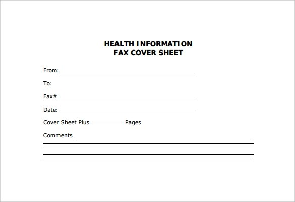 Sample Fax Cover Sheet - 27+ Free Documents in PDF , Word - fax cover sheet free