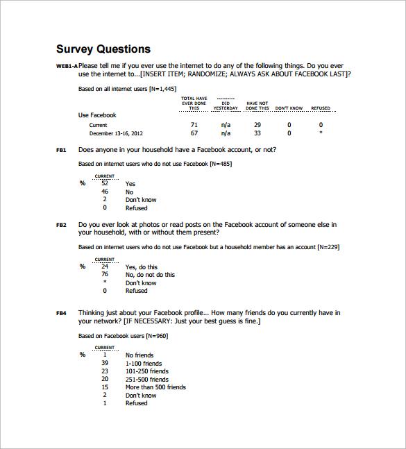 satisfaction survey question