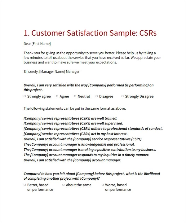survey letters to customers - Ozilalmanoof - survey cover letter
