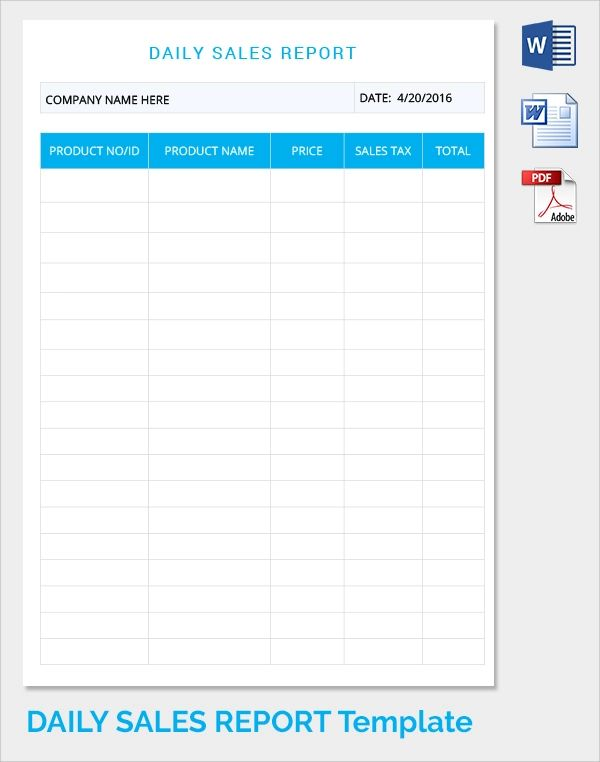 daily report template construction
